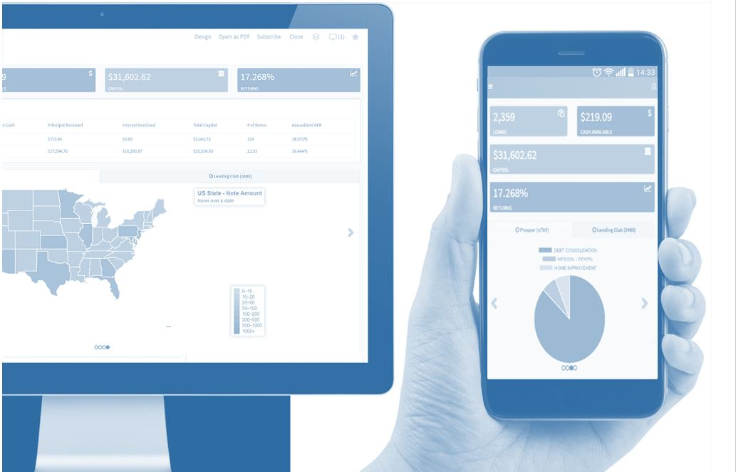 Monitor your entire portfolio in one single DASHBOARD